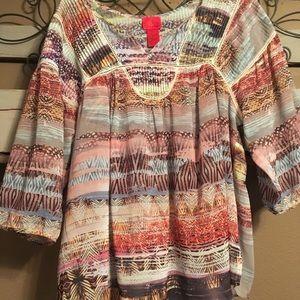 Tops - Cute blouse. 3/4's sleeves